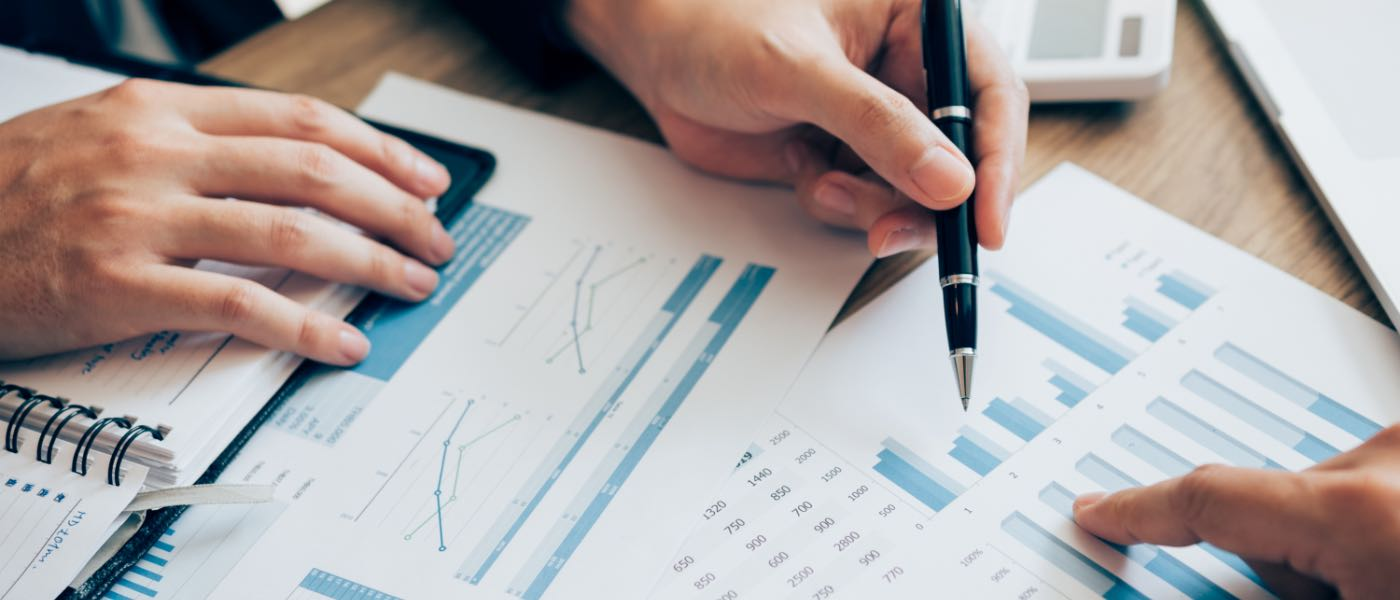 value analytics reports on a table